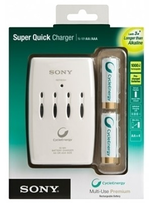 Buy Sony BCG-34HRE4KN Battery Charger: Camera Battery Charger