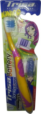 Buy Trisa Sonicpower Battery Operated Electric Toothbrush: Electric Toothbrush