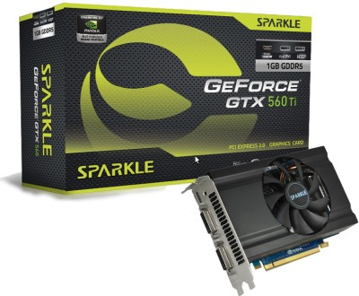 Buy Sparkle NVIDIA GeForce GTX 560Ti 1 GB GDDR5 Graphics Card: Graphics Card