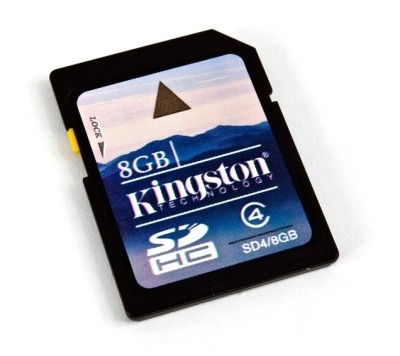 Buy Kingston SD 8 GB Class 4 Memory Card: Memory Card
