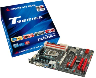 Buy Biostar TZ68K+ Motherboard: Motherboard