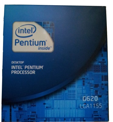 Buy Intel 2.6 GHz LGA1155 Dual Core G620 Processor: Processor