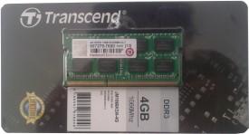 Buy Transcend DDR3 4 GB Laptop RAM (JM1066KSN-4G): RAM