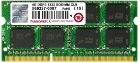 Buy Transcend DDR3 4 GB Laptop RAM (JM1333KSN-4G): RAM