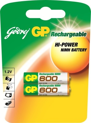 Buy Godrej GP AAA 600 mAh (2 Pcs) Rechargeable Battery: Rechargeable Battery