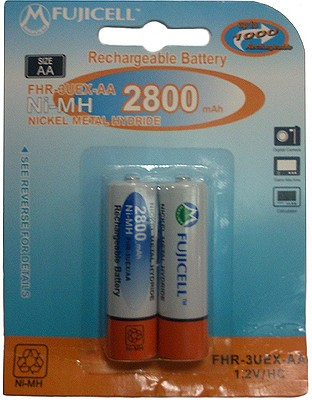 Buy Fujicell FHR-3UEX-AA (2800 mAh) Rechargeable Ni-MH Battery: Rechargeable Battery