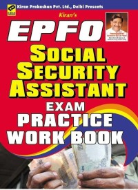 Buy EPFO Social Security Assistant Exam Practice Work Book: Regionalbooks