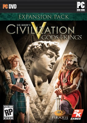 Buy Sid Meier's Civilization V: Gods & Kings (Expansion Pack): Av Media
