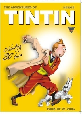 Buy The Adventures Of Tintin-Complete Set: Av Media