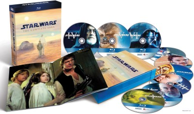 Buy Star Wars The Complete Saga: Av Media