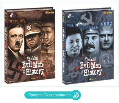 Buy The Most Evil Men In History Volume 1 & 2: Av Media