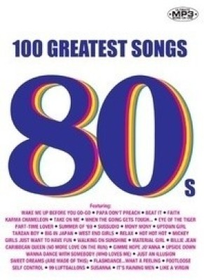 Buy 100 GREATEST SONGS - 80s: Av Media