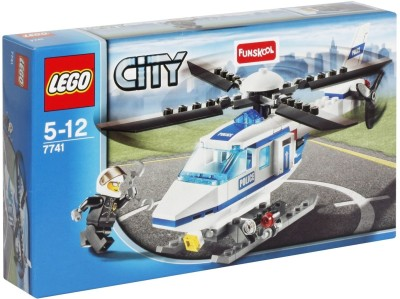 Buy Lego Police Helicopter: Block Construction