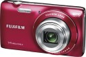 Fujifilm FinePix JZ100 Point & Shoot (Red)