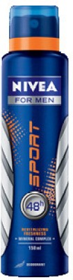 Buy Nivea Sport Deo Spray  -  150 ml: Deodorant