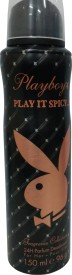 Buy Playboy Play It Spicy Deo Spray  -  150 ml: Deodorant