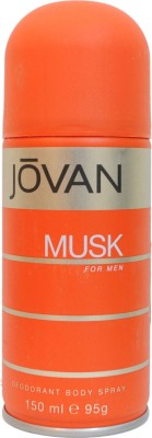 Buy Jovan Musk Deo Spray  -  150 ml: Deodorant