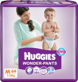Huggies Wonder-pants - Medium (64 Pieces)