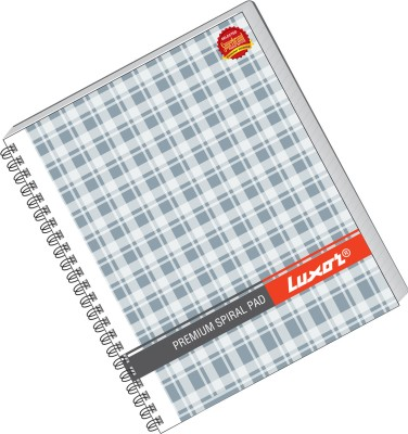 Buy Luxor 44 (Pack of 5) A5 Notebook Spiral Binding: Diary Notebook