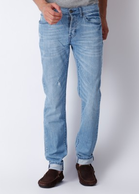 Web Denim Straight Fit Men's Jeans: Jean
