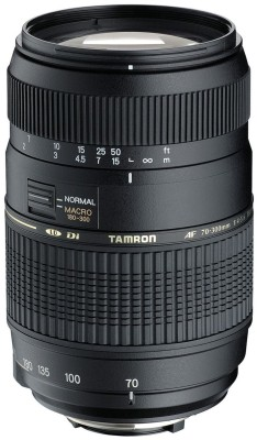 Buy Tamron AF 70-300mm F/4-5.6 Di LD Macro (for Nikon Digital SLR) Lens: Lens