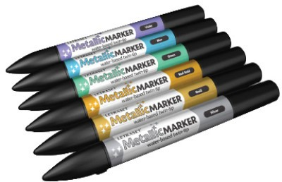 Buy Letraset Metallic Permanent Water-based Marker: Marker Highlighter