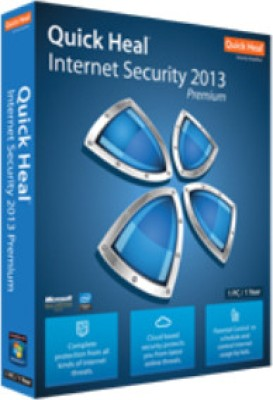 Buy Quick Heal Internet Security 2013 1 PC 1 Year: Security Software