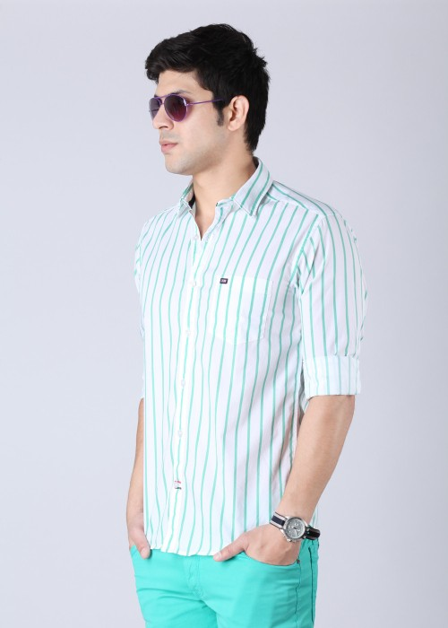 Buy Arrow Sport Men's Striped Casual Shirt