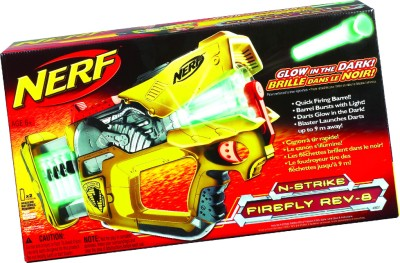 Buy Nerf N-Strike Firefly Rev-8: Toy Weapon